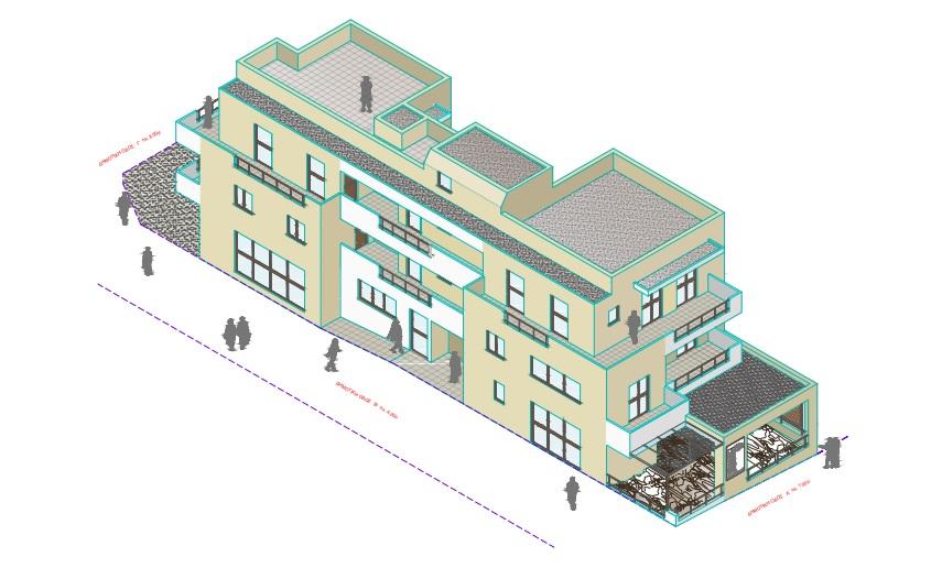 Ανέγερση Νέου Τριώροφου Κτιρίου Καταστημάτων – Διαμερισμάτων 560τ.μ. Με Προστασία / Διατήρηση Ορατών Αρχαίων